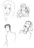 Drawing: Various People