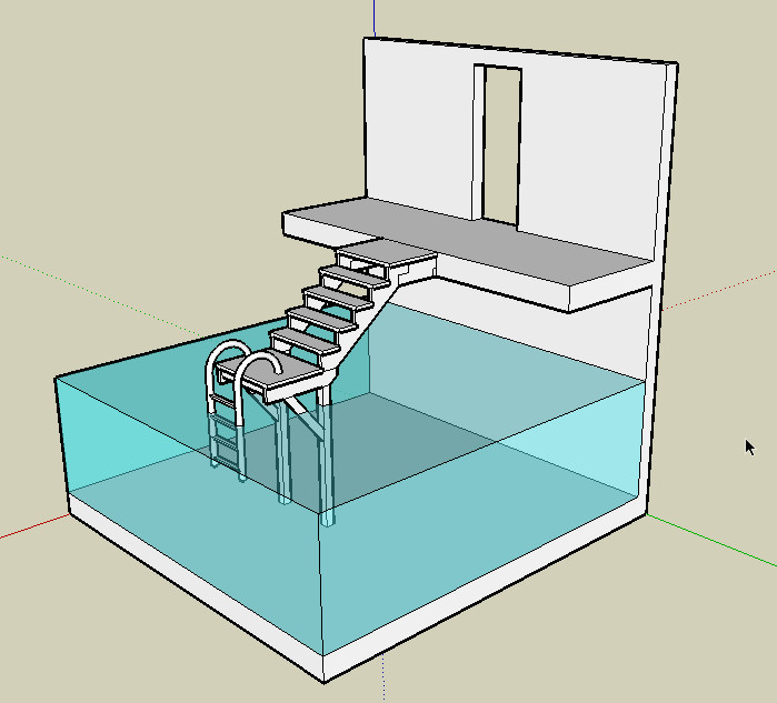 Movies for Pool design sketchup