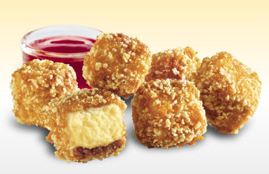 Arby's Cheesecake Poppers
